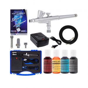 Master Airbrush Kit with Four Chefmaster Food Colors