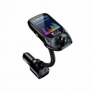 VicTsing (Upgraded Version) Bluetooth FM Transmitter
