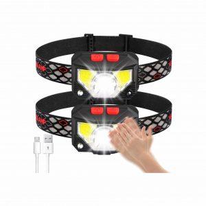 Soft Digits 1000 Lumens USB 8 Modes Waterproof Headlamp