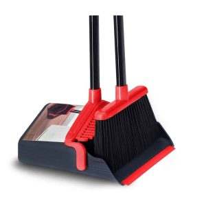 Solometric Broom with Dustpan