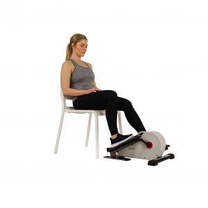 Sunny Health & Fitness Fully Assembled Elliptical Under Desk Exerciser