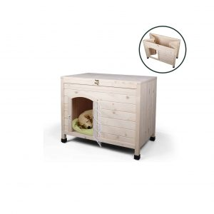 Friday Discount 31 Inches Indoor Wooden Dog House