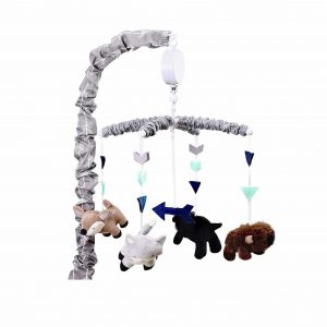 Woodland Trail Forest Crib Mobile