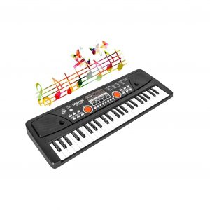 LYBALL Kids Keyboard 49 Key Rechargeable Dual Speakers Piano
