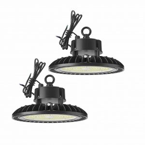 Sunco lighting high bay UFO LED light with 2 packs