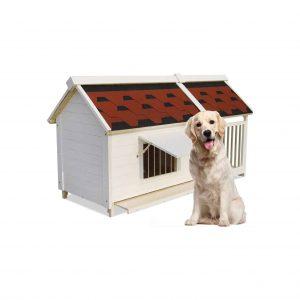 Beds Pet Comfortable Wooden Pet Kennel