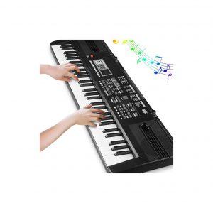 Tencoz Digital Music Piano Keyboard 61 Key Portable Piano