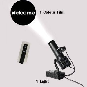 Ving 40W Indoor Remote Control LED GOBO Projector Light