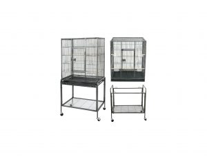 ZENY 53 Inches Pet Bird Cage Wrought Iron