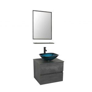 24 Wall Mounted Bathroom Vanity and Sink Combo