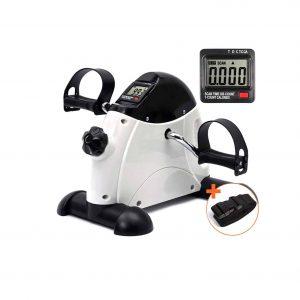 DECELI Portable Mini Pedal Under Desk Exerciser