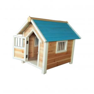 YAMEIJIA Solid Wood Kennel Dog House