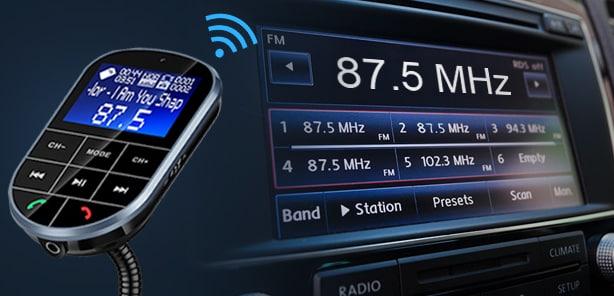 Top 10 Best Bluetooth FM Transmitters