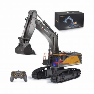 Kolegend Remote Control Excavator Toy 22 Channel
