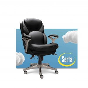 Serta Desk Chair with Lumbar Support