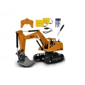 4-Pejiijar Channel Full Functional Remote Control Excavator