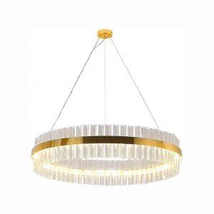 Berlato LED Crystal Luxury Ring Chandelier
