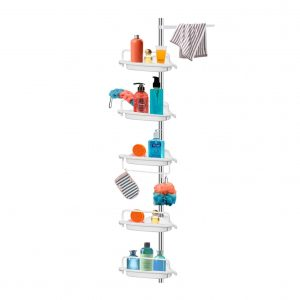 Vailge Constant Tension Corner Shower Caddy