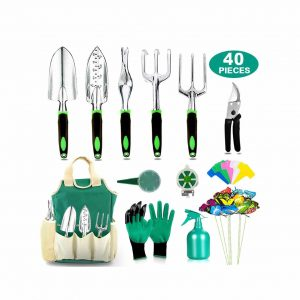 AOKIWO 40-pieces Garden Tools Set