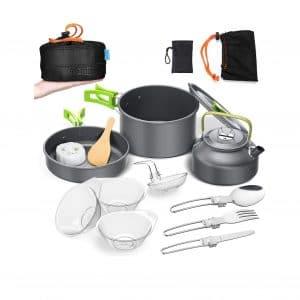 BGVANG Camping Cookware Set