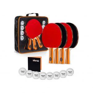 Idoraz Portable Ping Pong Set