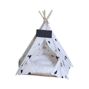 Penck Pet Teepee Dog and Cat Bed