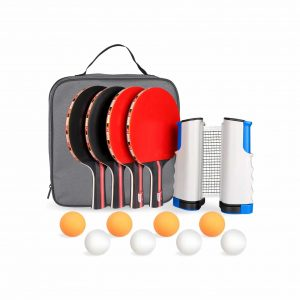 Fostoy Portable Ping Pong Paddle Set