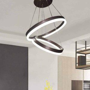 Jaycomey Modern LED Pendant 44W Ring LED Light