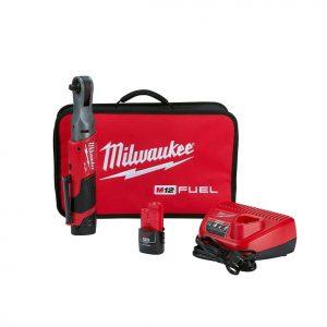 Milwaukee 2557-22 Cordless 3.8 in. Ratchet Kit