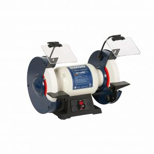 Rikon Professional Bench Grinder for Sharpening with Rubber Feet
