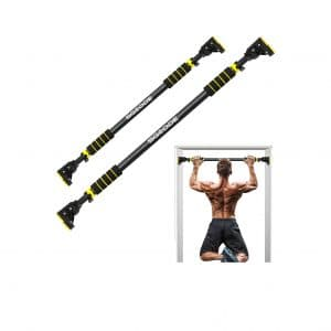 SGODDE Pull Up Bar Wall-Mounted 28.3 to 37.4 Inches