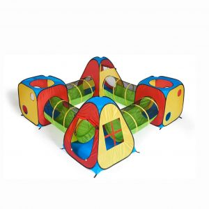 UTEX Pop Up Children Play Tent 8 in 1 House