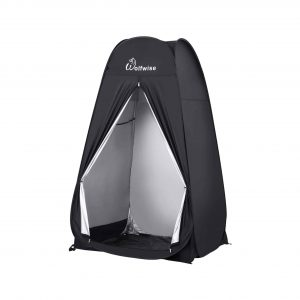 WolfWise Spacious, Portable Pop Up Shower Tent