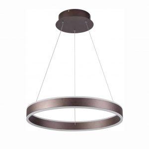 Choohue Modern Ring Foyer Pendant 2640 Lumens Adjustable Ring LED