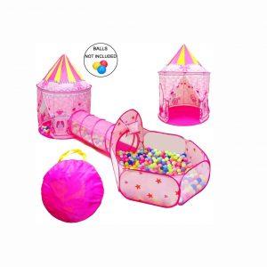 LOJETON Princess Fairy Tale Castle Tent