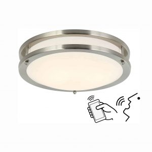 Lcaoful Smart Alexa Ceiling 12 Inches Ceiling