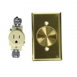 Leviton 5249-TFB 1-Gang Floor Box