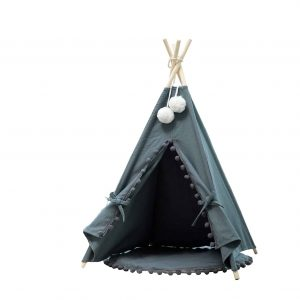 Samincom Pet Cat Dog Teepee 4 Sided House Indian Tent