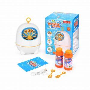 BATTOP Bubble Machine with Bubble Solutions