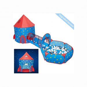 HAN-MM 3pc Play Tent Ball Pit with Tunnel