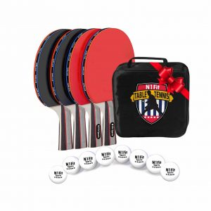 N1Fit Portable Ping Pong Paddle Kit