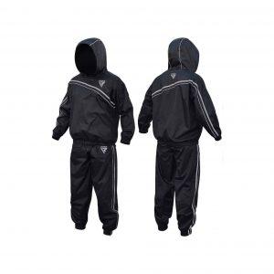 RDX MMA Sauna Sweat Suit, Black