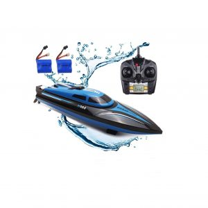 SZJJX RC Boat 2.4Ghz 25KM H High-Speed Electric Racing Boat