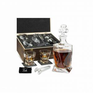 Whiskey Stones Gift Set for Men & Women