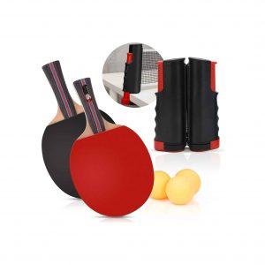 CNSSKJ Portable Ping Pong Kit