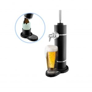 ECostConnection Portable Deluxe Ultrasonic Beer Maker