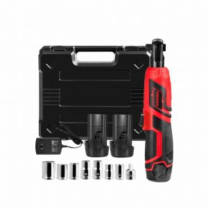 Goplus Cordless Electric Ratchet Wrench Set