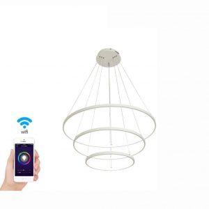 LightlnTheBox Smart Wi-Fi LED 3 Ring Chandeliers
