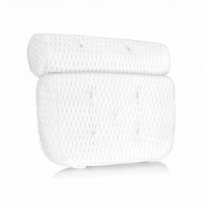 Mosuch Bath Pillow with Seven Non-Slip Suction Cups
