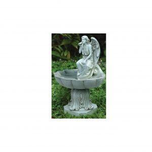 Roman Garden Concrete Bird Bath